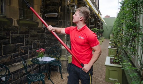 Pole Cleaning - Ryak Cleaning Company Belfast
